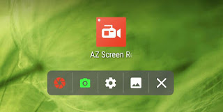 AZ Screen Recorder app