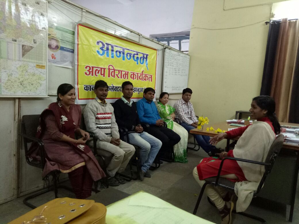 महिला बाल विकास विभाग में अल्प विराम कार्यक्रम का हुआ आयोजन-Organizing-a-short-program-in-Women-Child-Development-Department