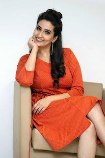 Manjusha looks super cute in Orange