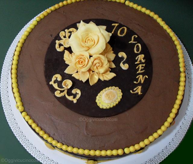 Oggi vi cucino cos dark chocolate cake per 70 anni for Cucinare anni 70
