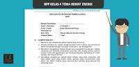 RPP Kelas 4 SD Tema Selalu Berhemat Energi K13  Revisi