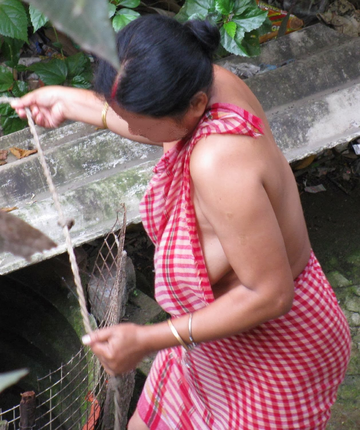 Real Indian Desi Aunties In Working - Telugu Tamil Kerala -5484