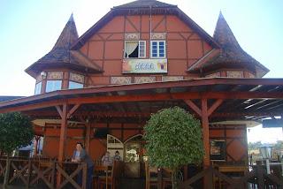 Restaurante da Vila Germânica, em Blumenau - SC