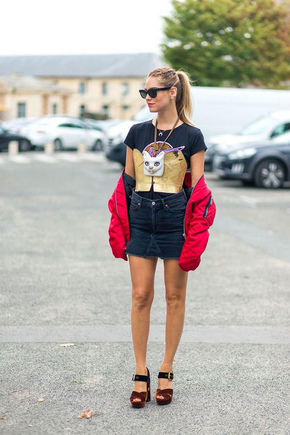 Chiara Ferragni Fashion Week SS17 Street Style