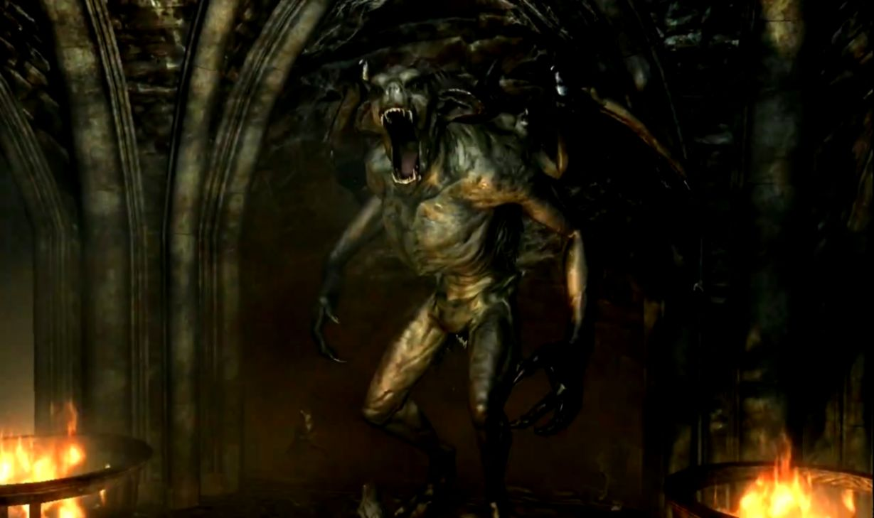 Skyrim Dawnguard Gargoyle | Kingdom Wallpapers