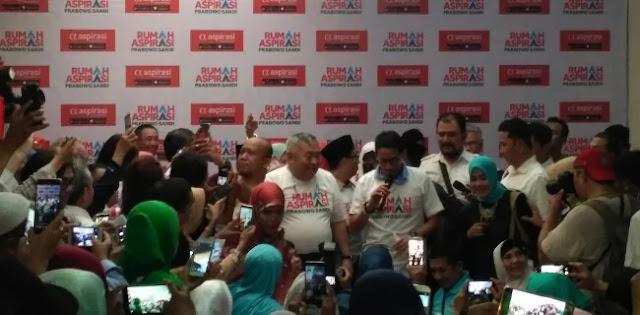 Sandi: Pesan Prabowo, Jangan Kampanye Negatif ke Jokowi