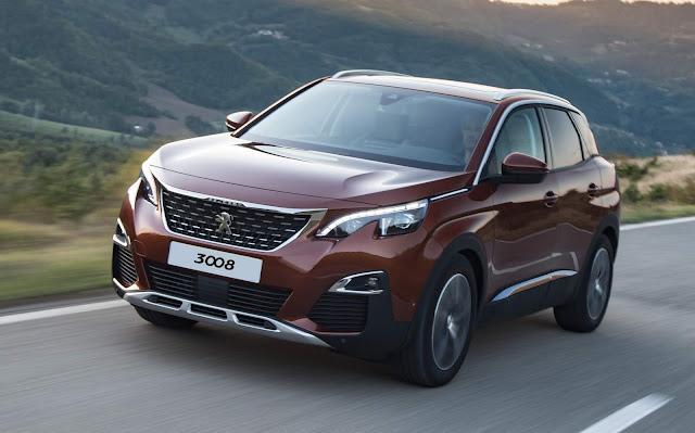 Peugeot 3008 2018 Griffe Pack estreia no mercado por R$ 154.990 reais