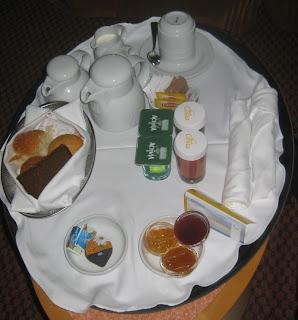 Frühstück auf der Kabine
