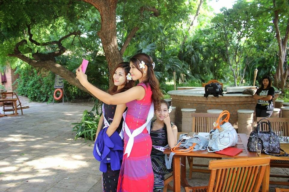 Miss Universe Myanmar Contestants Trip to Bagan