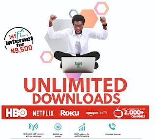 Unlimited data on Tizeti