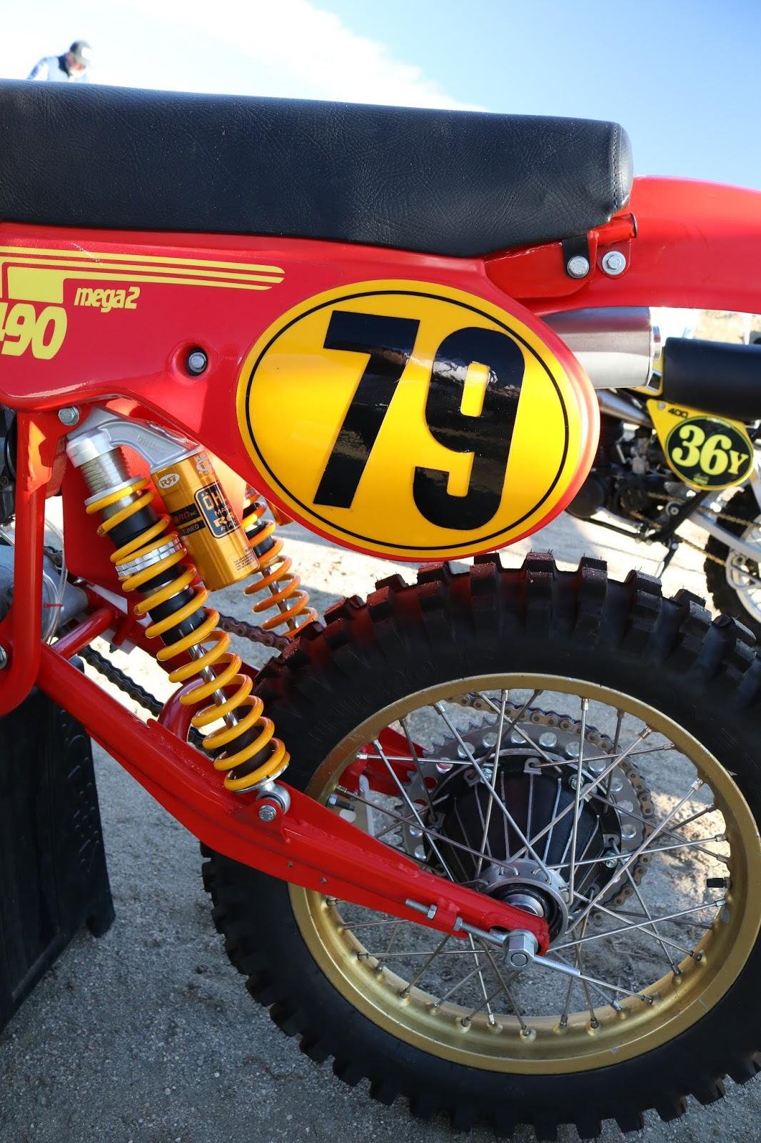Maico 490 Mega 2 79 Raced At The Rocky Mountain Vintage MX Colorado Springs