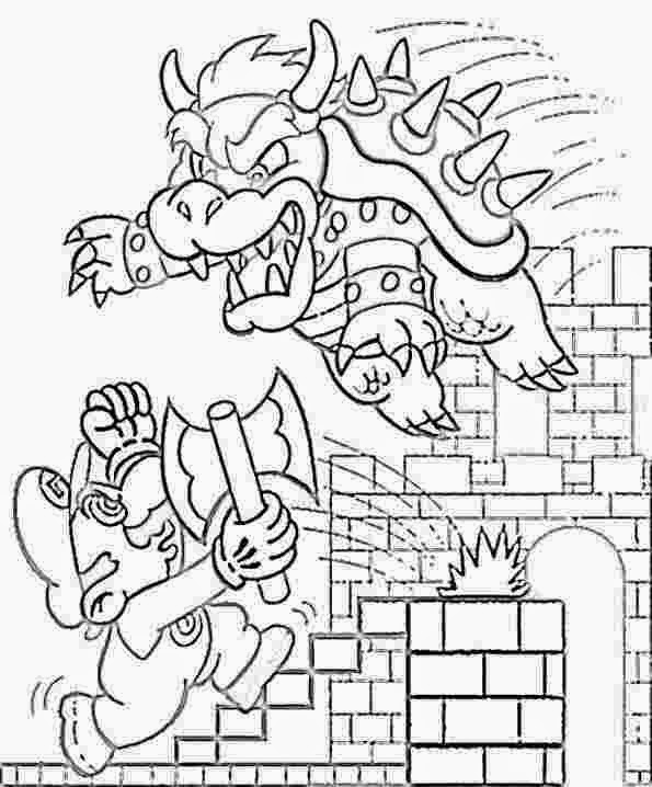 Coloring Pages: Mario Coloring Pages Free and Printable
