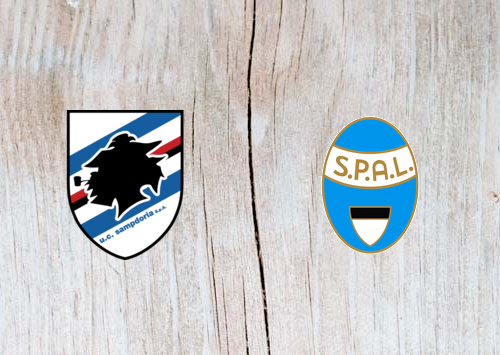 Sampdoria vs SPAL– Highlights 01 October 2018