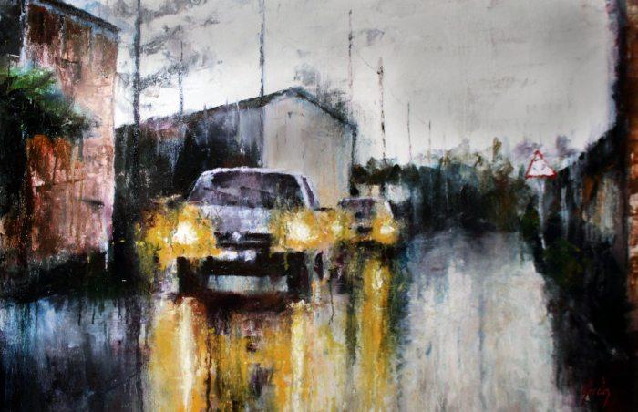 Динамичная живопись. Grech Santos