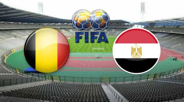 مشاهدة مباراة مصر وبلجيكا