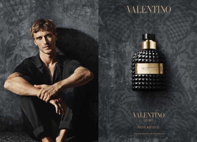 Reklama zapachu Uomo Absolu Noir od Valentino