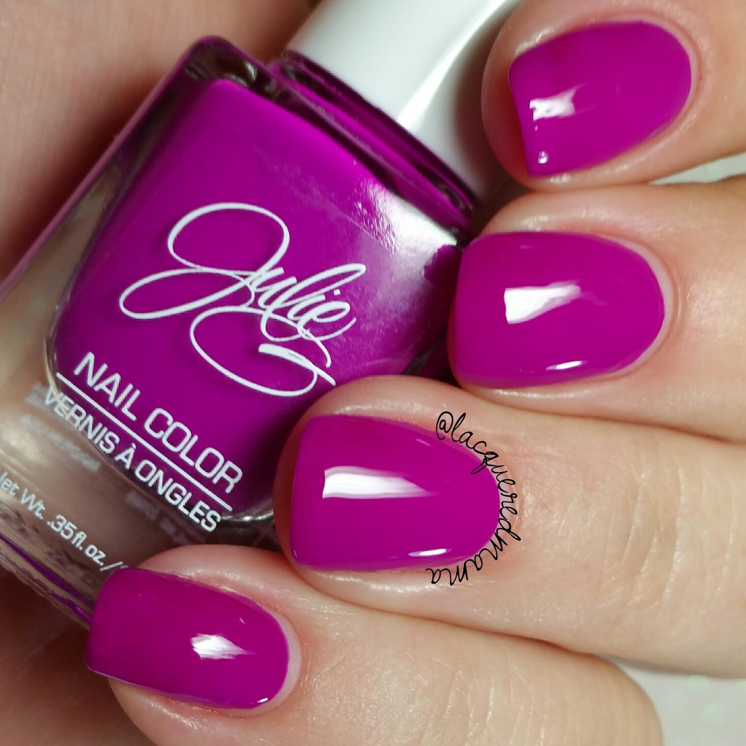 LacqueredMama: Jesse\'s Girl Cosmetics - JulieG Spring Nail Polish ...