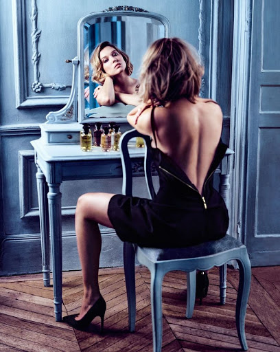 Lea Seydoux sexy model photo shoot Harper's Bazaar magazine September 2016