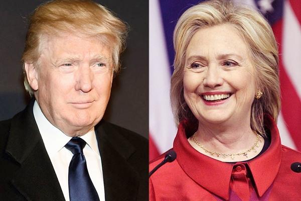 Disputa nas eleições americanas: Donald Trump e Hillary Clinton