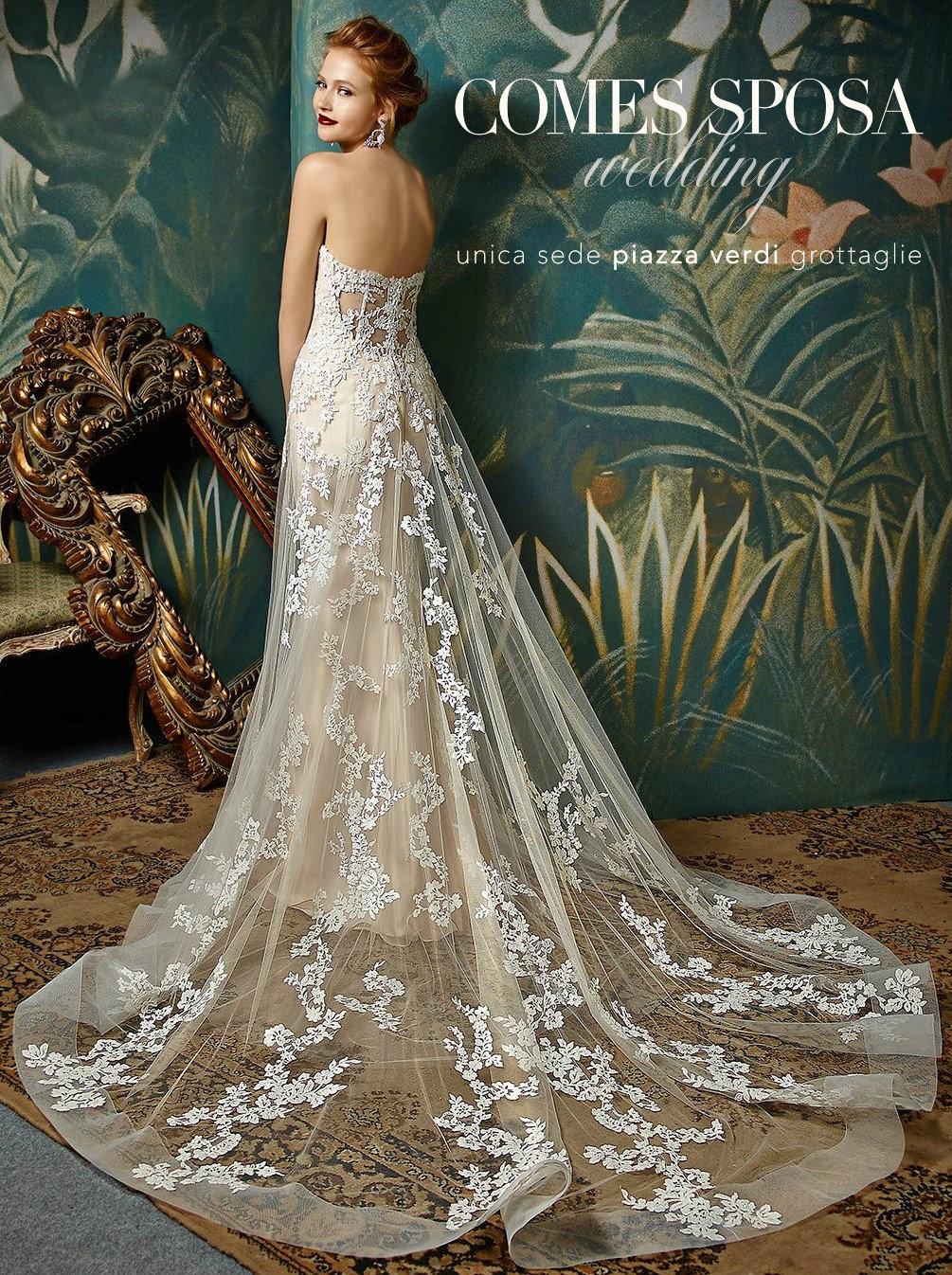 ed522132f5a1 Sposine - Il blog della Sposa  Abiti da sposa fatti della stessa ...