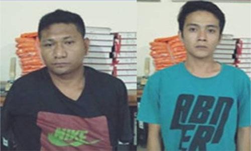 Lagi Lagi Sat Narkoba Tanah Datar Tangkab  Dua Orang Pengedar Narkoba