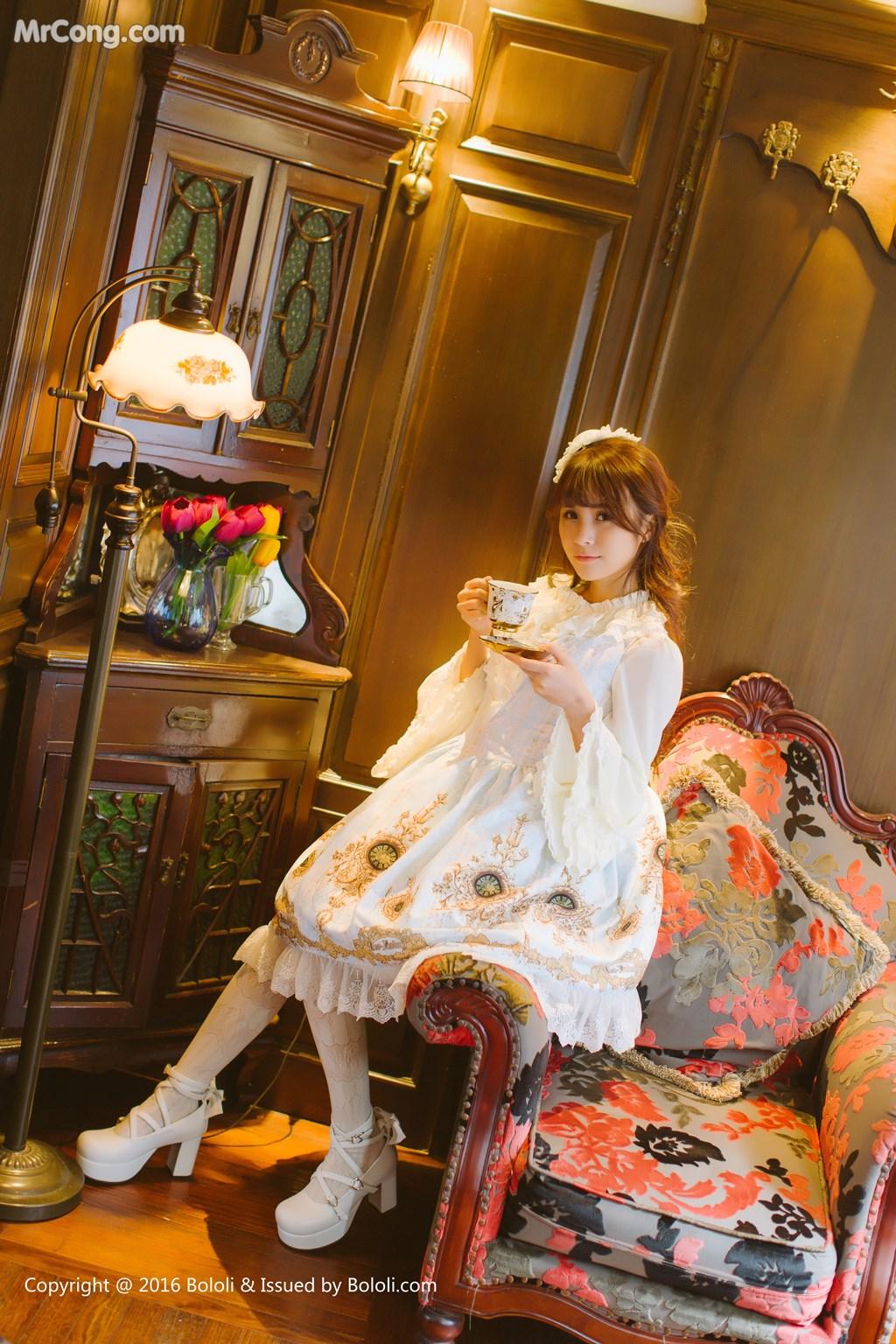 Image Tukmo-Vol.113-Xia-Mei-Jiang-MrCong.com-009 in post Tukmo Vol.113: Người mẫu Xia Mei Jiang (夏美酱) (63 ảnh)