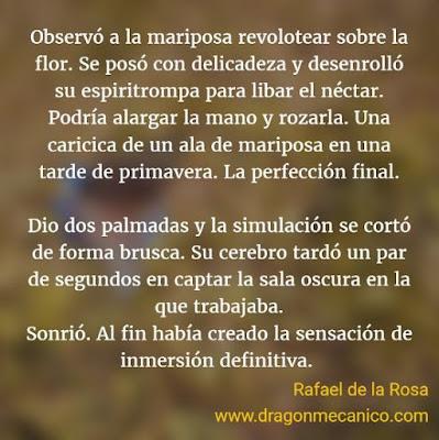 Microrrelato de fantasía, Cuentos Mecánicos, Rafael de la Rosa