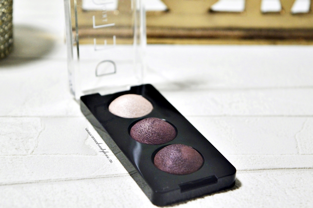 Catrice Eyeshadow DeluxeTrio N° 030 - Rose Vintouch Open Product