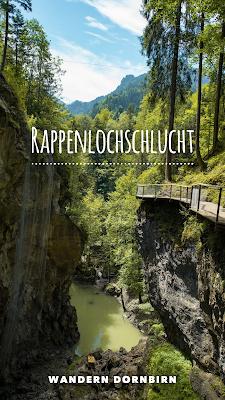 Rappenlochschlucht und Staufensee  Wandern Dornbirn  Wanderung Vorarlberg  Rundweg bei Gütle 20