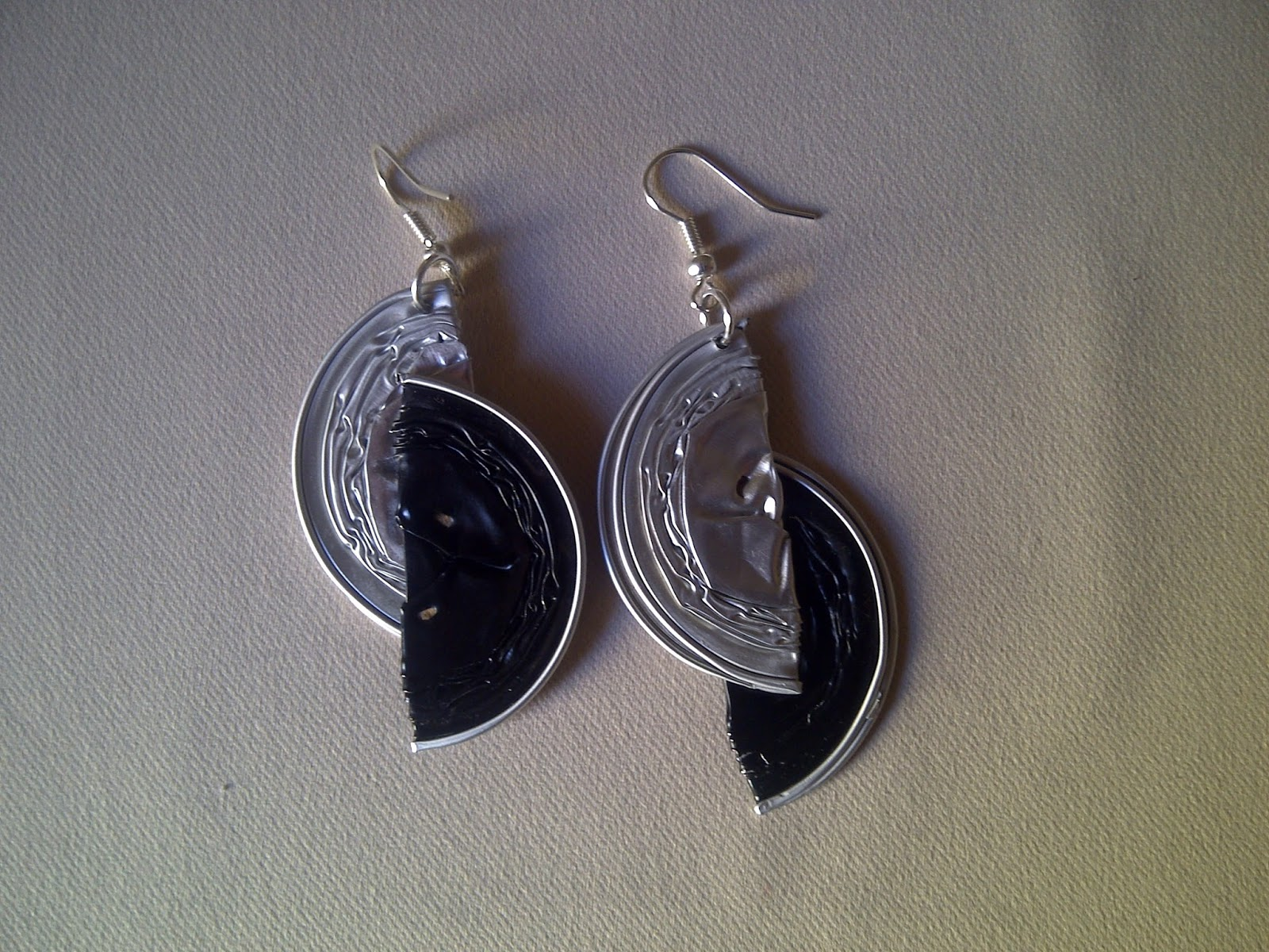 Top nespressart bijoux: Orecchini mezze lune QQ86