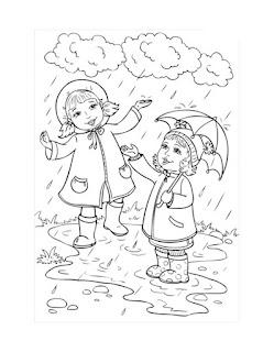 דפי צביעה לסתיו