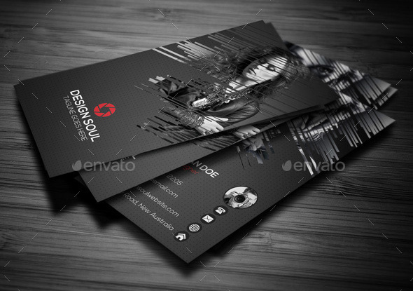 Awesome Photographer Business Cards Templates