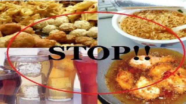 pantangan makanan penderita amandel