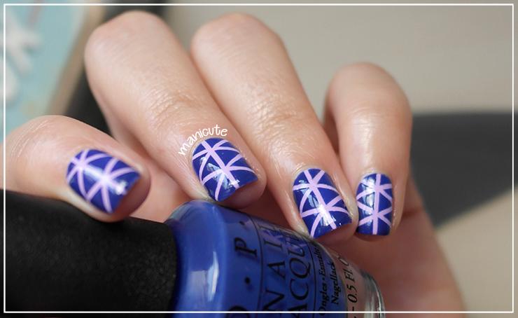 manicura geométrica nail tapes