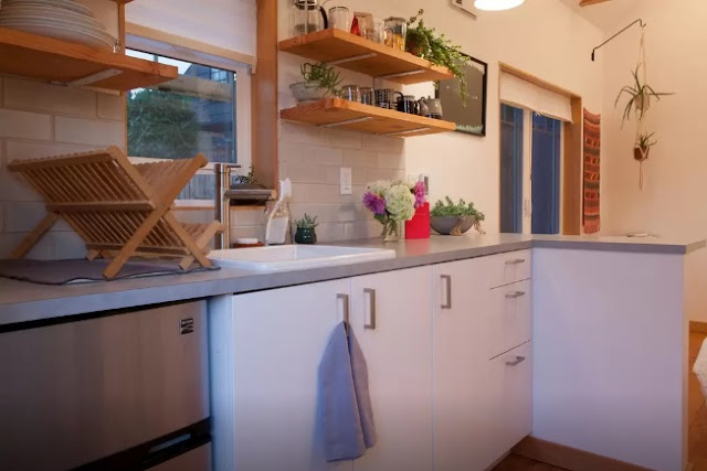 stylish Portland tiny house by Emily Katz