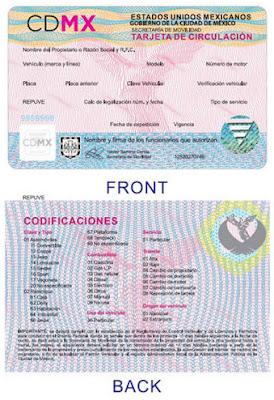 SCHOLASTICO te presenta la nueva imagen de la tarjeta de circulación