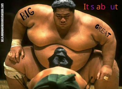 Perbedaan kata Big dan kata Great