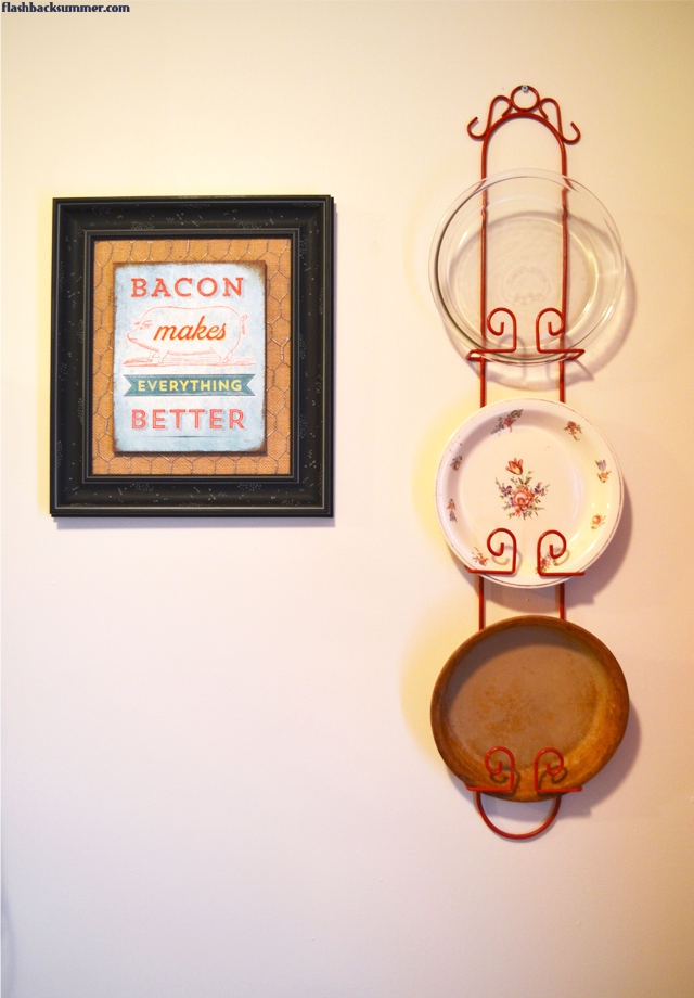 Flashback Summer: Decorating a Renter's Kitchen on a Budget, Vintage Style