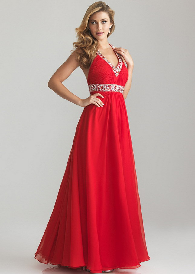 How To Rule The Party With Long Red Dress