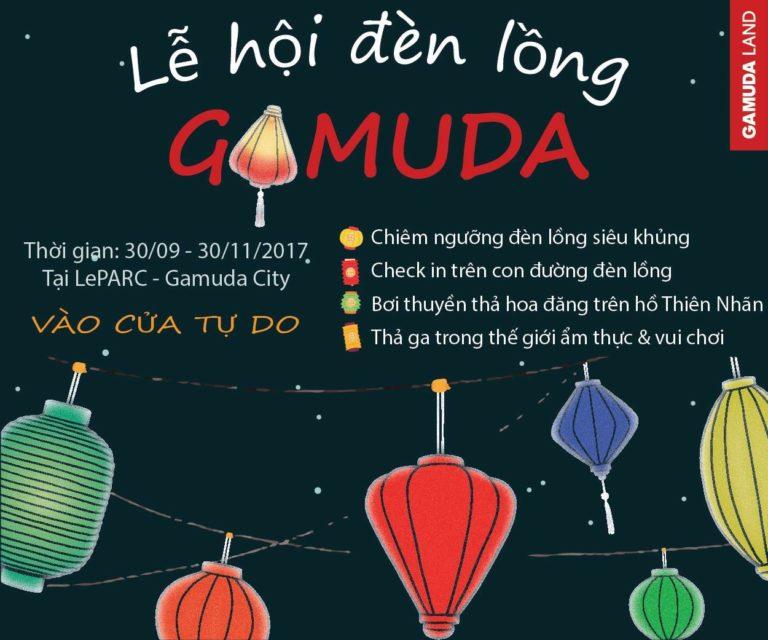 Lễ hội đèn lồng được Gamuda Land tổ chức thường niên và đây cũng là lễ hội thú vị nhất năm.