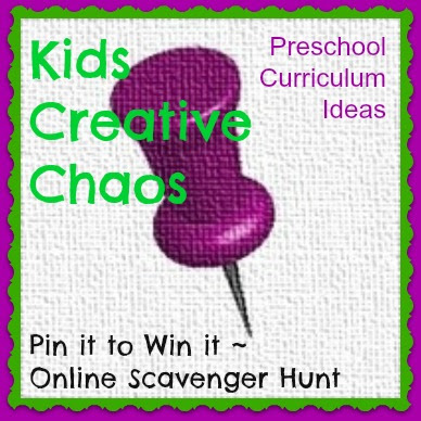 Things to do with Kids Preschool Curriculum Pin it Online Scavenger Hunt
