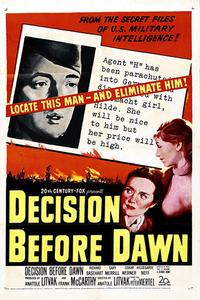 Watch Decision Before Dawn Online Free in HD