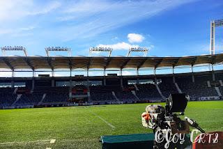 Banc de touche, Stadium de Toulouse