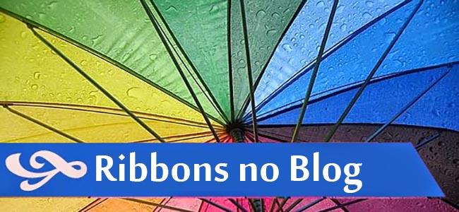 Ribbons - Faixa para títulos dentro das postagens