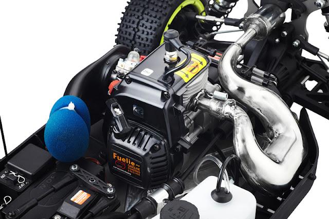 Rc Car Gasoline Losi BAJA 5B 29cc Engine Two 48KG Servo 1.5 Scale