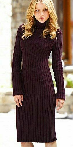 Knit-long-sweater-dress