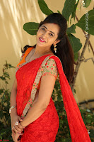 Lasya Cute Beauty in Saree Backless Choli at her Interview ~  Exclusive 218.JPG