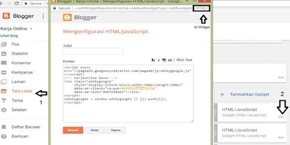 Cara Agar Widget Tertentu Hanya Bisa Di Tampilkan Di Halaman Tertentu Pada Blogspot Sesuai Dengan Yang Kita Inginkan