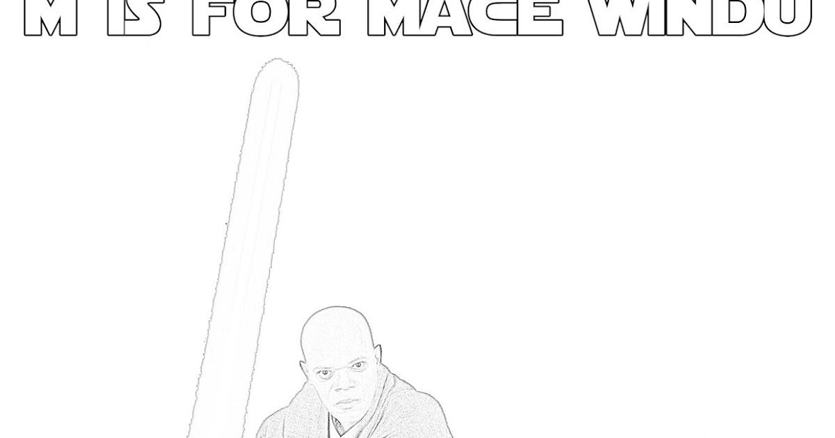 lego star wars coloring pages mace windu   Mace Windu Makes Purple Lightsabers Cool - The Star Wars ...