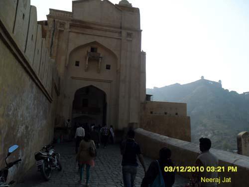 जयपुर यात्रा- आमेर किला